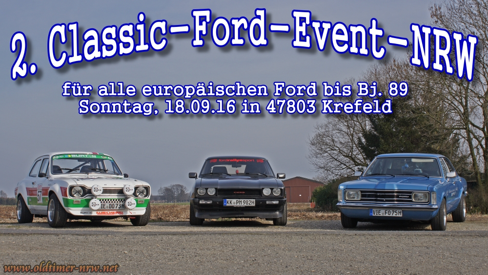 AnkClassic-Ford-Event-NRW16_Start